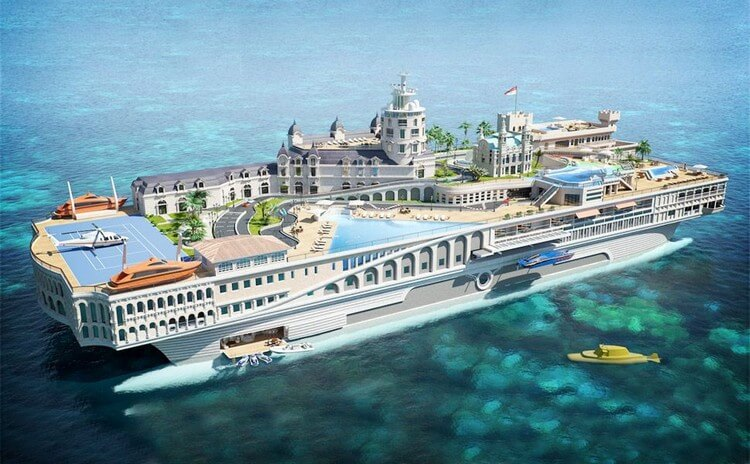 Streets of Monaco - Most Expensive Yacht in the World