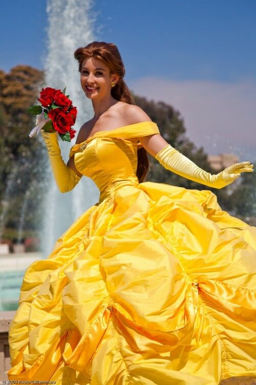 Belle from Beauty the Beast - Halloween Costumes Ideas for Adults