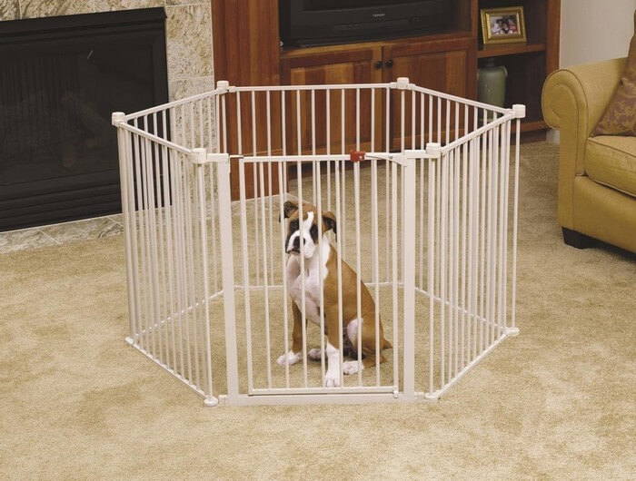 Baby Gate With Pet Door Thelistli