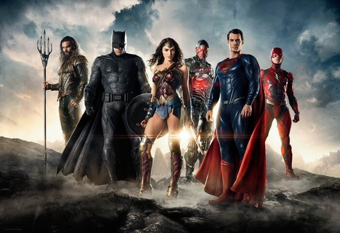 Justice League - Top Fantasy Movies 2020