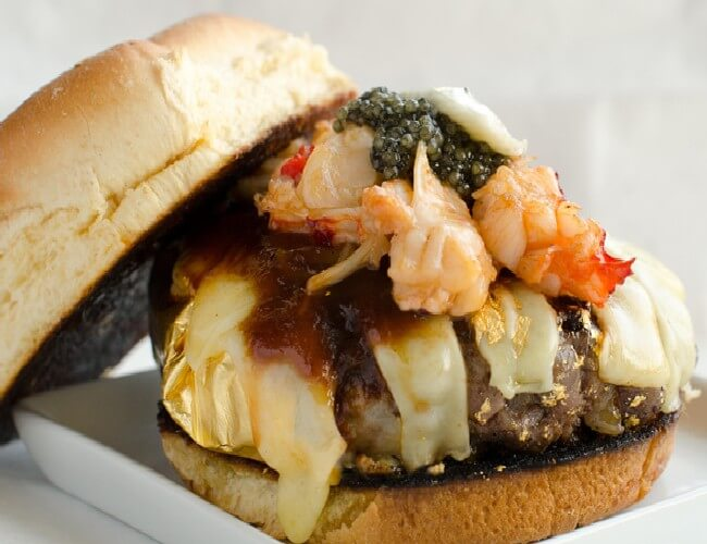 Most Expensive Burger 5 - Most Expensive Burger in the World - Tested Most Valuable Burger