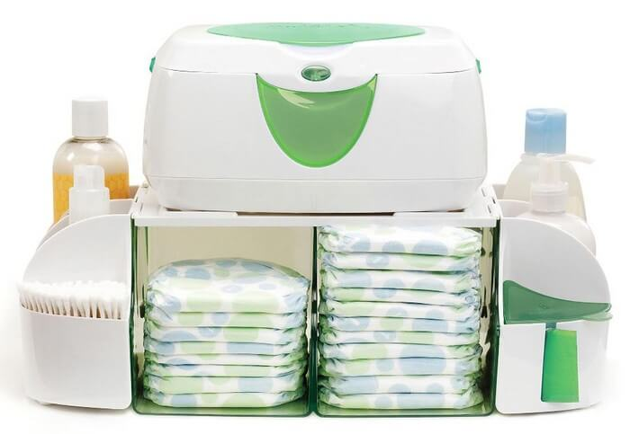 Munchkin Diaper Duty Organizer - Baby Wipes Warmer