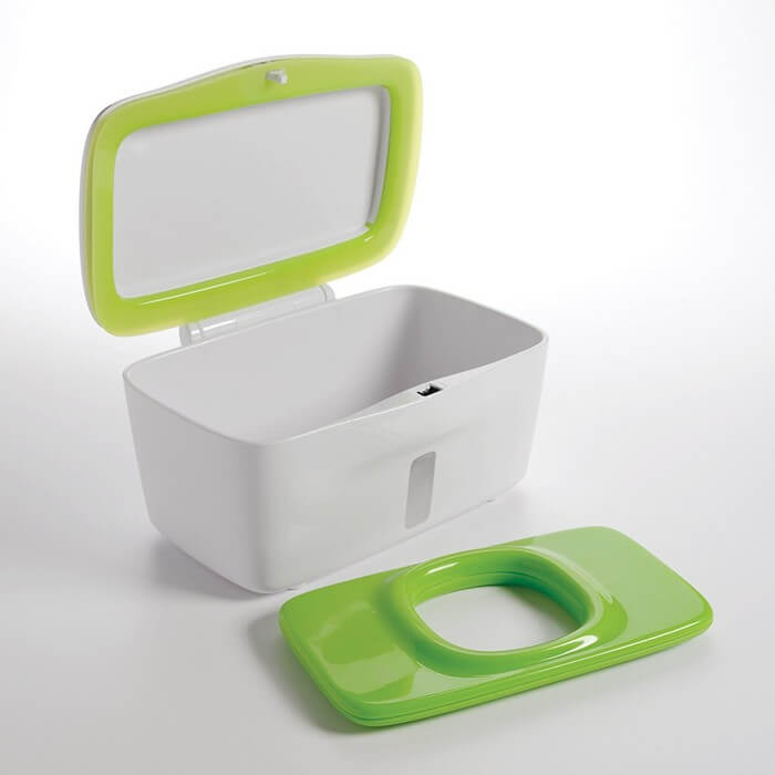 OXO Tot Perfect Pull Wipes Dispenser – Green - Baby Wipes Warmer