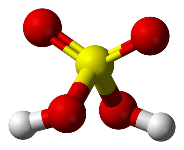 Sulphuric Acid - Most Strongest Acids in the World