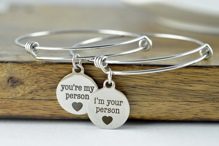 You're My Person Bangle Bracelet - Best Friend Bracelets: Top Selling Bracelets for True Friends