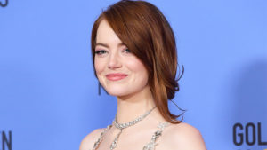 emma stone golden globes 2017 hair 300x169 - Emma Stone Net Worth