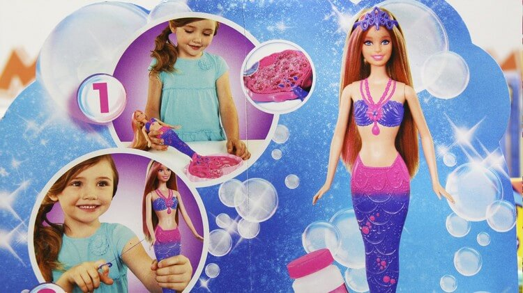 Barbie Bubble Mermaid - Best Gifts for 4 Year Old Girls: Buy Beautiful Gifts for Your Kids