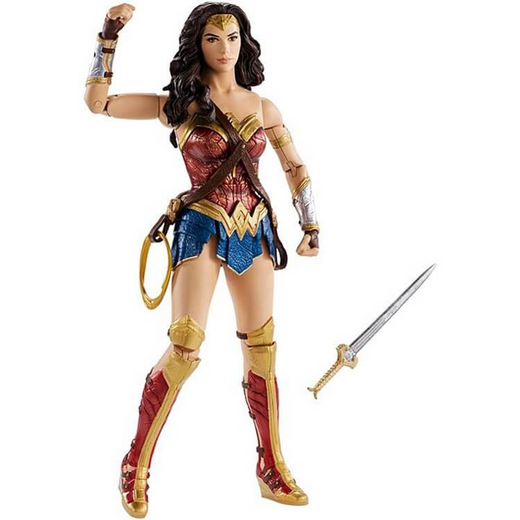 DC Wonder Woman Action Figure - Best Gifts for 5 Year Old Girls: Best Gift Ideas for Your Princess