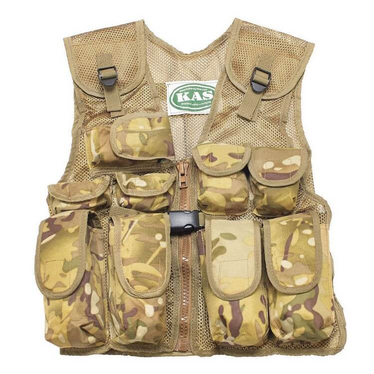 Kids Army Camouflage Combat Vest by KAS - Best Toys for 5 Year Old Boy | Buy Favorite Toys for your Kids