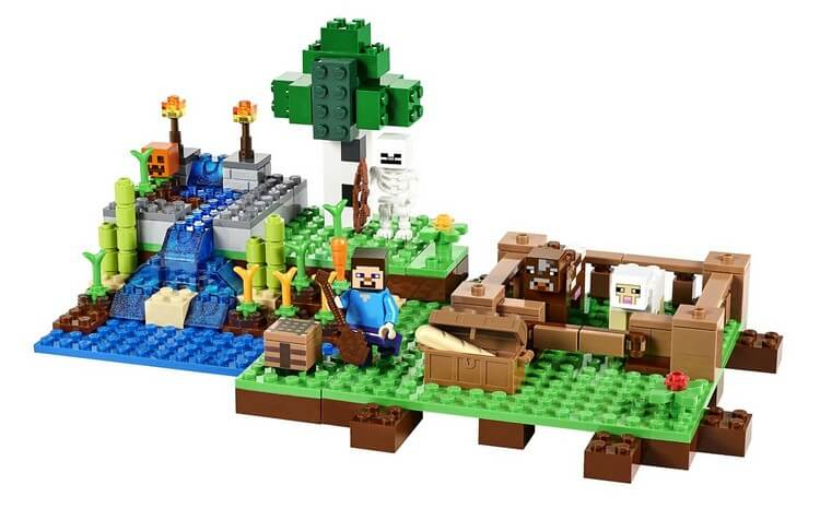 Minecraft the Farm Building Set by LEGO - Best Toys for 8 Year Old Boy to Gift him on Birthday