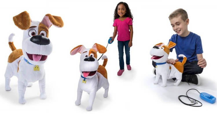 The Secret Life of Pets – Best Friend Max - Best Gifts for 5 Year Old Girls: Best Gift Ideas for Your Princess