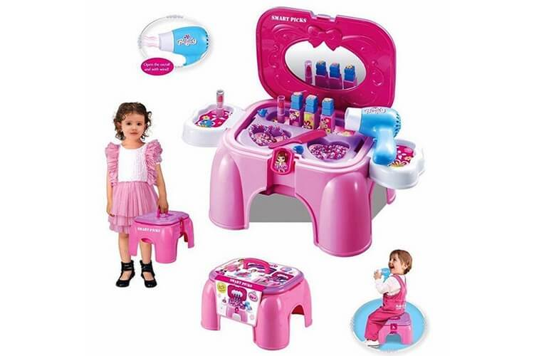 unshine Carry along Beauty Set - Best Gifts for 4 Year Old Girls: Buy Beautiful Gifts for Your Kids