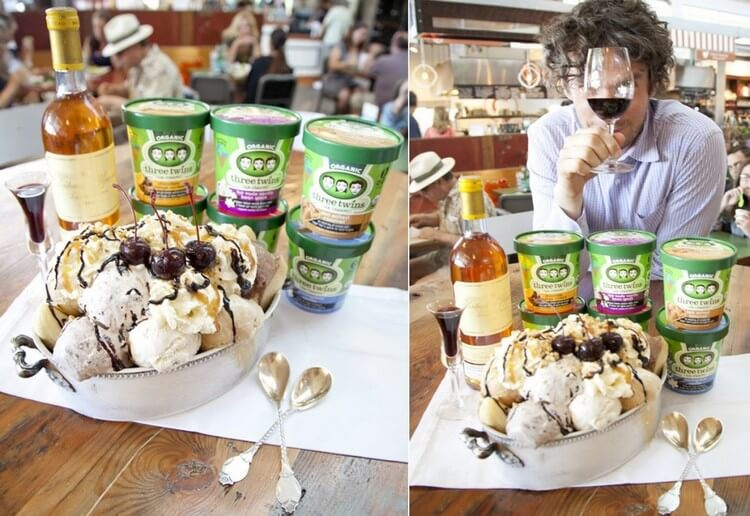 Three Twins Ice Cream Sundae 3333.33 - Most Expensive Ice Cream in the World : Best Ice Cream Brands