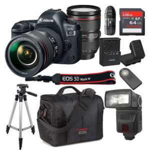 Canon EOS 5D Mark IV with 24 105mm f4 L IS II USM Lens Kit Bundle 300x300 - 15 Best Father Gifts -- Birthday Gifts for Dad
