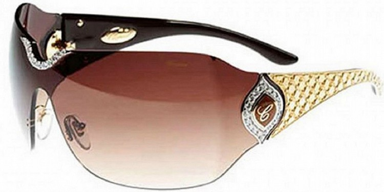 Chopard De Rigo Vision Sunglasses 408000 - Top 8 Most Expensive Glasses in the World
