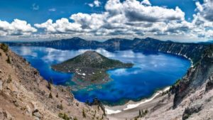 Crater Lake Oregon 300x169 - Best Places for Swimming in the World -- Natural Pools