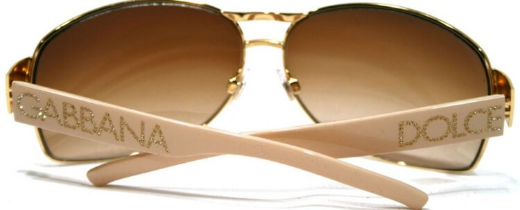 Dolce Gabbana DG2027B Sunglasses 383000 - Top 8 Most Expensive Glasses in the World