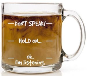 Dont Speak Funny Coffee Mug 300x261 - Best Mother Gifts for your Mommy