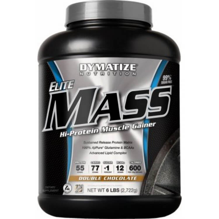 Elite Mass Gainer by Dymatize - Most Expensive Protein Powders in the World 2018: Best Proteins for Bodybuilding