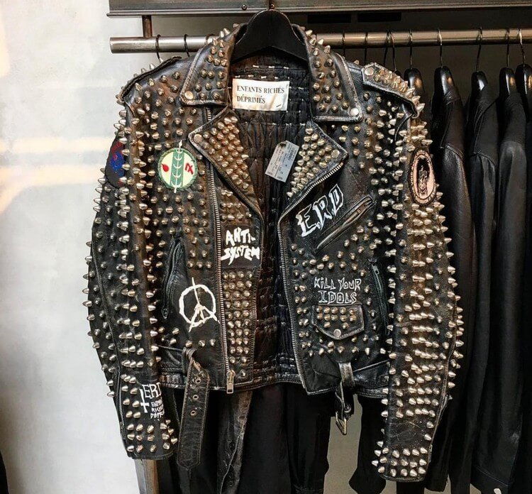 Enfants Riches Deprimes Studded Biker Jacket - Top Most Expensive Jackets in the World 2018: Expensive Jackets for Men