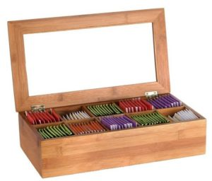 Estilo Bamboo Tea Storage Box 300x256 - Best Mother Gifts for your Mommy