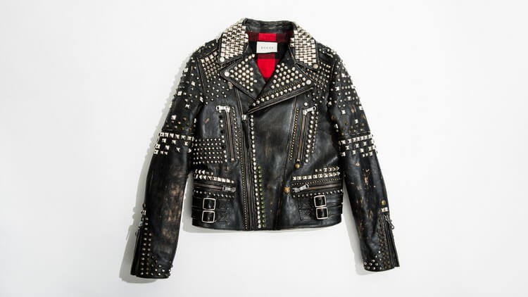 Gucci Studded Leather Biker Jacket - Top Most Expensive Jackets in the World -- For Men
