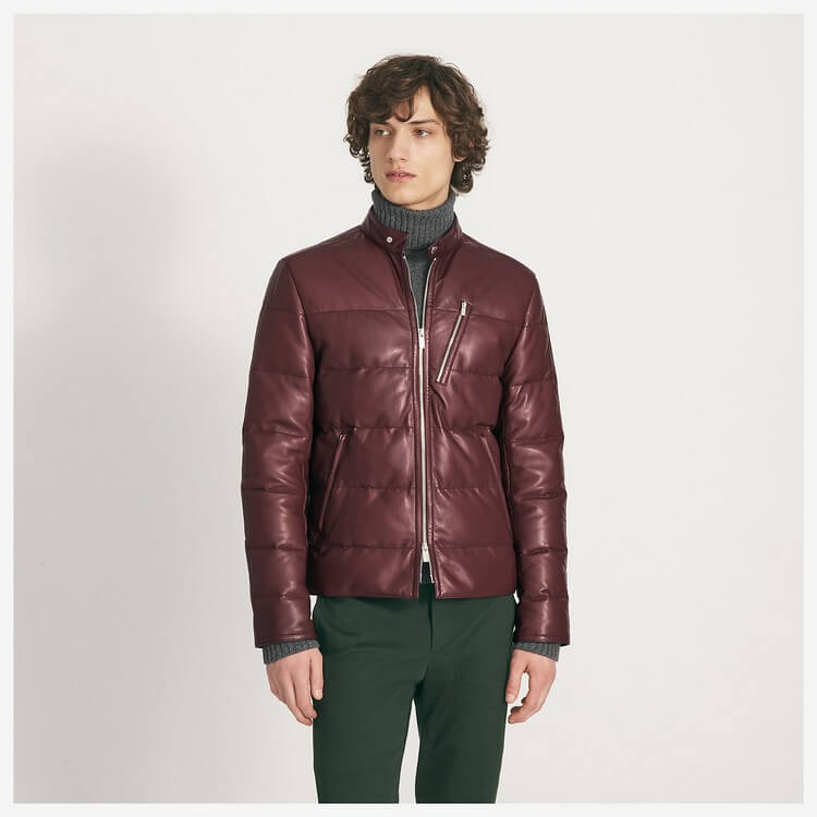 Hermes Madison Quilted Lambskin Jacket - Top Most Expensive Jackets in the World -- For Men