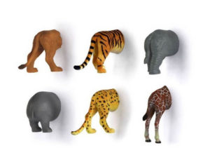 Kikkerland Safari Animal Butt Magnets 300x231 - Best Mother Gifts for your Mommy