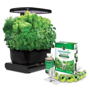 Miracle Gro AeroGarden Harvest with Gourmet Herb Seed Pod Kit Black 300x300 - Best Mother Gifts for your Mommy