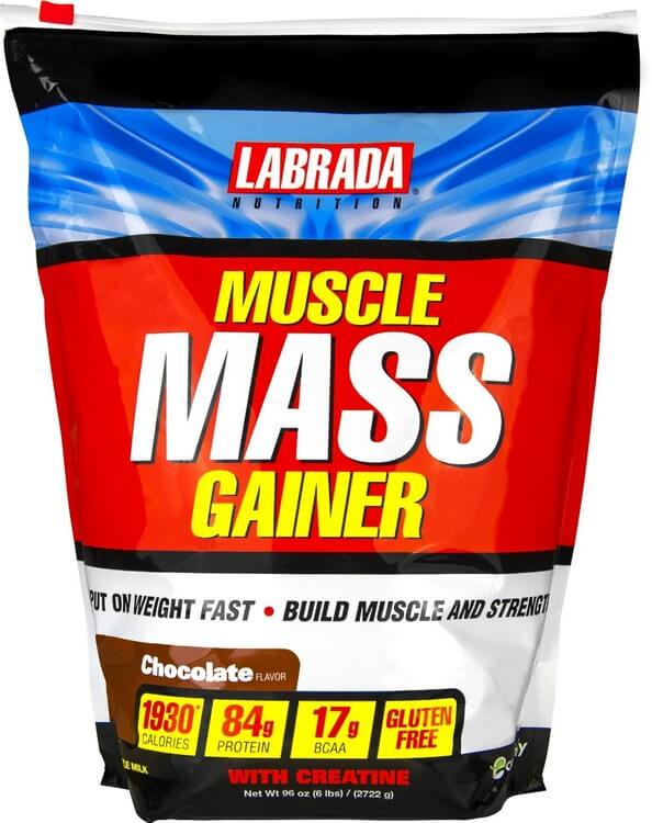 Muscle Mass Gainer by Labrada - Most Expensive Protein Powders in the World 2018: Best Proteins for Bodybuilding