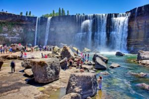 Salto De Laja Chile 300x200 - Best Places for Swimming in the World -- Natural Pools