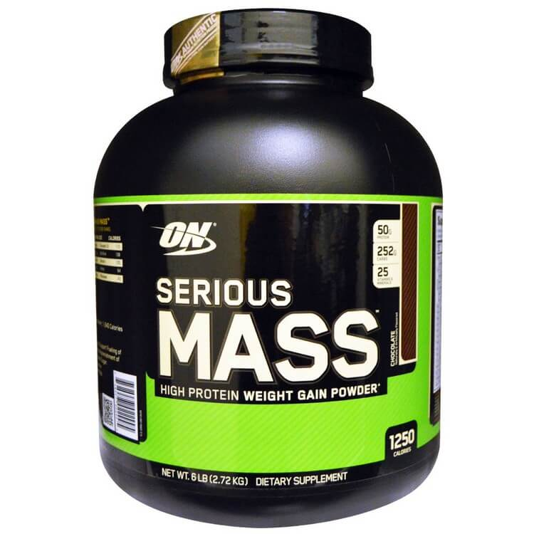 Serious Mass by Optimum Nutrition - Most Expensive Protein Powders in the World 2018: Best Proteins for Bodybuilding