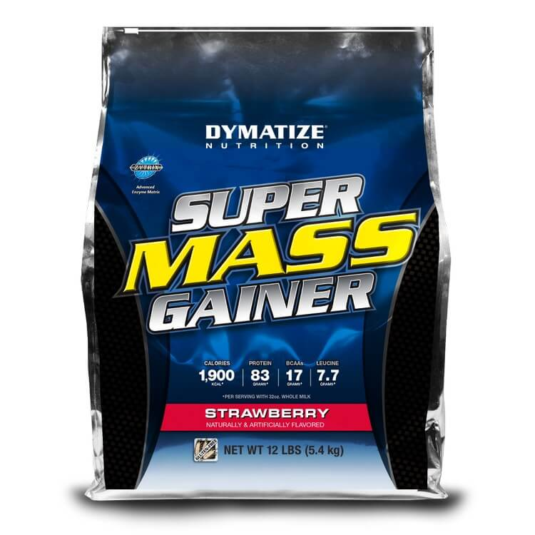 Super Mass Gainer by Dymatize - Most Expensive Protein Powders in the World 2018: Best Proteins for Bodybuilding