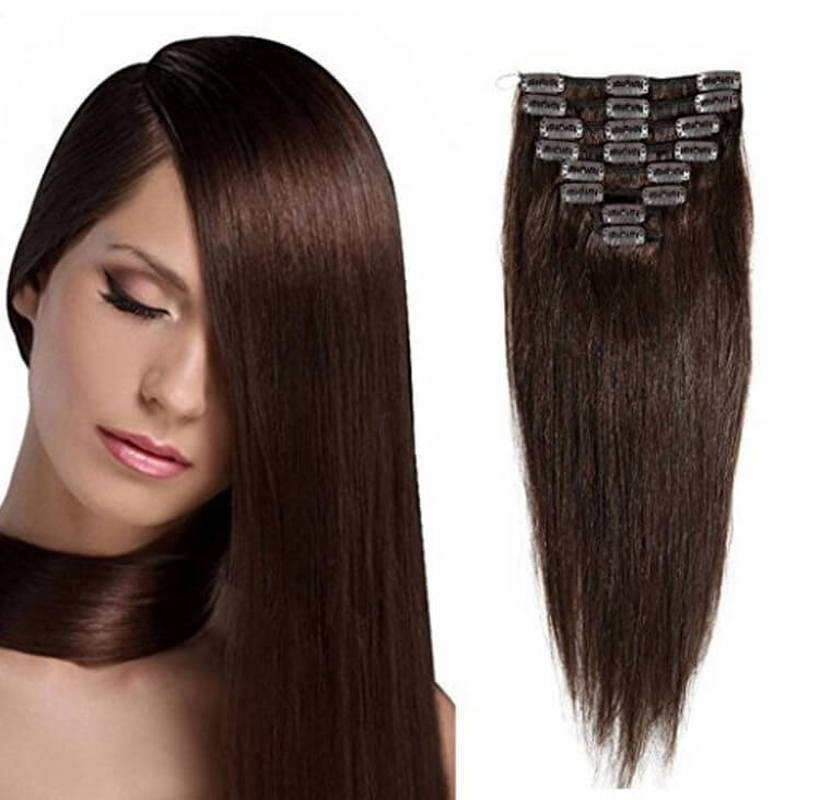 Yameena Remy Clips - Most Expensive Hair Extensions in the World