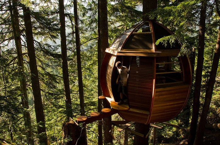 coolest treehouses 10 - Coolest Treehouse in the World for Kids -- Innovative Ideas