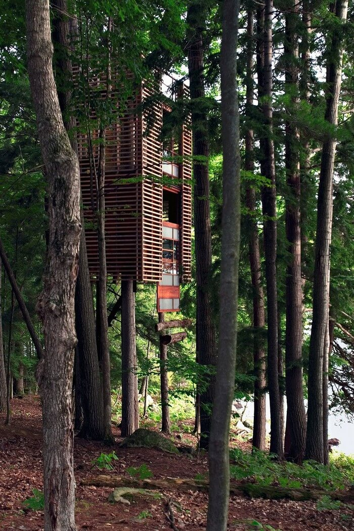 coolest treehouses 14 - Coolest Treehouse in the World for Kids -- Innovative Ideas