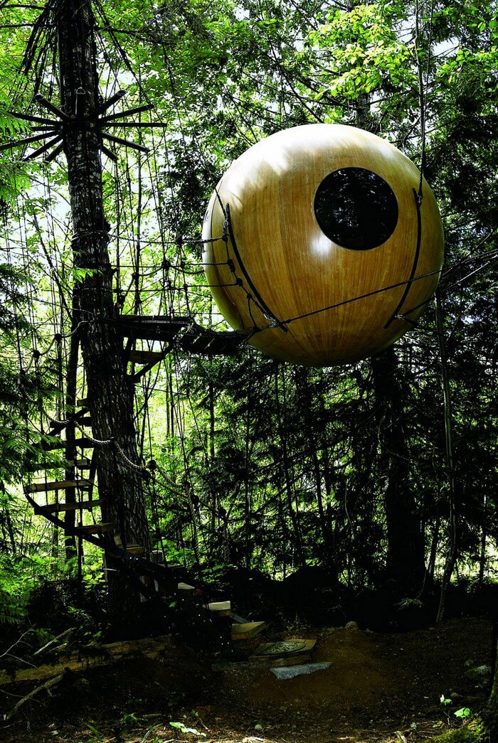 coolest treehouses 3 - Coolest Treehouse in the World for Kids -- Innovative Ideas