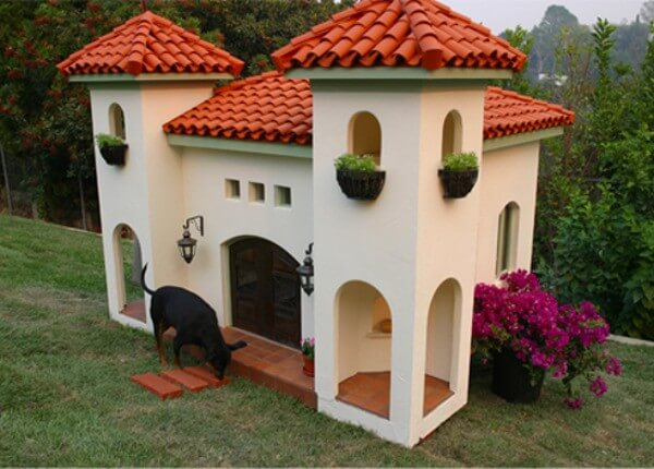 luxury dog houses 6 - Top 10 Luxury Dog Houses in the World