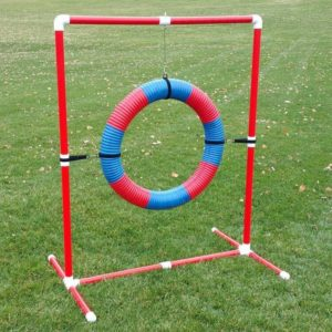 """Red 24"""" Competition Tire Jump 300x300 - Best Dog Agility Equipment Kits - A Complete Guide"""
