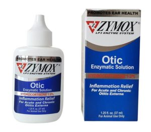 Zymox Otic Pet Ear Treatment with Hydrocortisone 300x261 - Best Dog Ear Cleaner Reviews for Clean Smelly Dog Ear