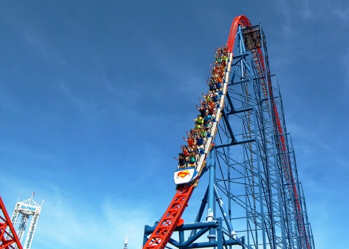 best roller coasters 10 - Top 10 Best Roller Coasters in the World 2020