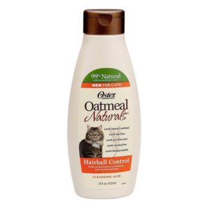 Oster Oatmeal Naturals Hairball Control Cat Shampoo 18 Ounce 300x300 - Cat Shampoo for Dandruff - Full Guide for Best Cat Shampoos