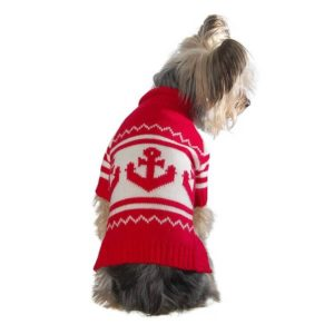 Stinky G Anchor Sweater 300x300 - Best Dog Sweaters - Complete Guide for Large Dog Sweaters