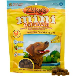 Zuke's Mini Naturals Healthy Moist Training Treats 300x300 - Top Rated Dog Treats - Best Dog Treats Reviews