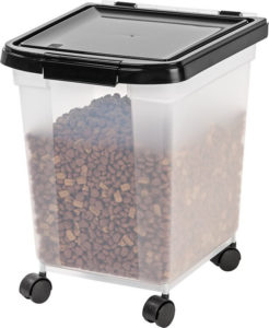 Airtight Pet Food Storage Container by IRIS 246x300 - Cute Cat Food Storage - Full Guide for Best Cat Food Containers