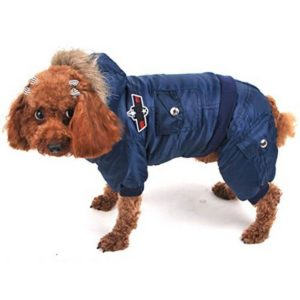 Gimilife Air Man Design Dog Winter Coat with Hat 300x300 - Best Dog Hats - Full Guide for Best Dog Winter Hats