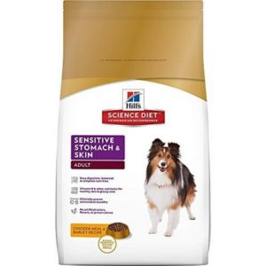 Hill's Science Diet Adult Sensitive Stomach Skin Dry Dog Food 300x300 - Best Sensitive Stomach Dog Food 2019