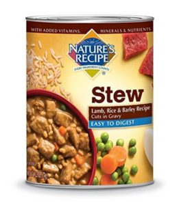 Nature's Recipe Wet Dog Food Cuts in Gravy 261x300 - Best Sensitive Stomach Dog Food 2019