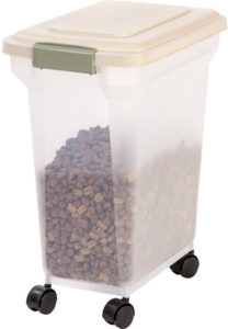 Premium Airtight Container by IRIS USA Inc. 1 208x300 - Cute Cat Food Storage - Full Guide for Best Cat Food Containers