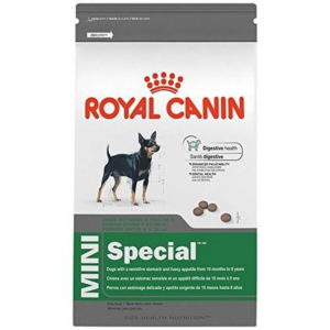 Royal Canin Size Health Nutrition Mini Special Dog Food 300x300 - Best Sensitive Stomach Dog Food 2019
